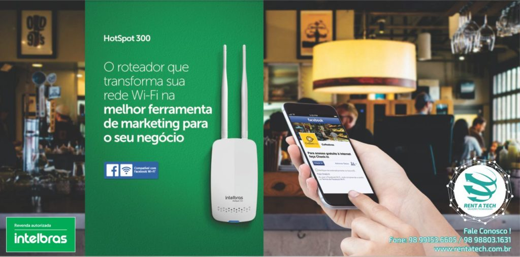 Roteador Wireless facebook